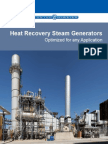 Heat Recovery Steam Generators