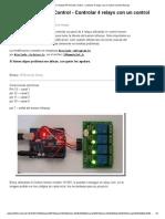 APC Expert_ Arduino IR Remote Control - Controlar 4 Relays Con Un Control Remoto Infrerojo