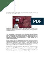 Judicial Failure - Bhopal Gas Disaster