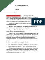 Transcrição Direito Administrativo CERS