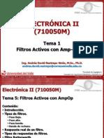 Electrónica II_Tema 1_Filtros Con AmpOp