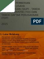 Tata Cara Pemberian Surat Ijin Usaha