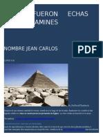 Como Fueron Echas Las Piramines