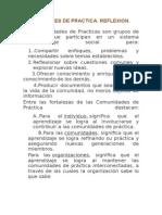 aaa.    Reflexiones sobre las Comunidades de Practica.docx