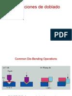 Presentacion acerca del proceso de doblado