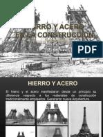 Exposicion Acero vs Hierro