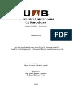 La Imagen Bajo La Perspectiva de La Cosmovisión. Cuatro Cosmogramas Precolombinos Mesoamericanos