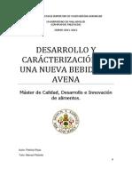 Caracterizacion Colada de Avena