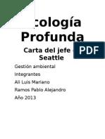 Ecología Profunda
