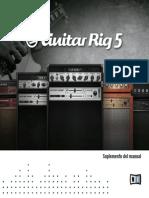 Guitar Rig 5 Manual Addendum Spanish