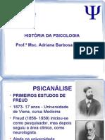 Aula 6- HistPsico- Psicanálise