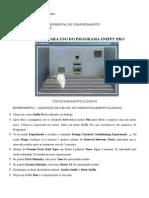 Manual Para Uso Do Programa Sniffy Pro