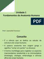 Unidade 1 Fundamentos Da Anatomia Humana- Prof Leonardo Francisco (1)