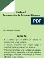 Unidade 1 Fundamentos Da Anatomia Humana- Prof Leonardo Francisco.ppt