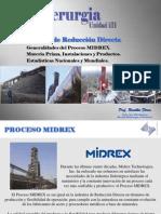 Unidad 3.2 RD Proceso MIDREX