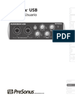 Audiobox USD Owners Manual