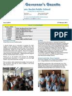 MBPS Newsletter February 2015