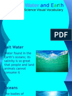 crystal water and earth visual vocabulary