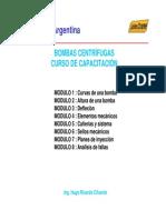 BOMBAS CENTRÍFUGAS SELLOS MECÁNICOS  CURSO DE CAPACITACION.pdf
