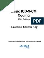 Icd9 Answer Key 2011