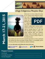 Indigenous Peoples Days