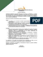 Carta Invitacion Asponorchi