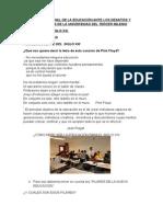 EL PROFESIONAL DE LA EDUCACIÓN ANTE LOS DESAFÍOS Y CONTEXTOS DE LA UNIVERSIDAD DEL TERCER MILENIO.doc