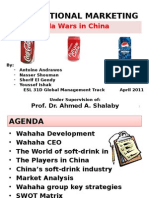 Cola Wars in China
