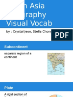 south asia geography visual vocab