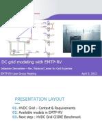 DC Grid Modeling EMTP-RV UGM