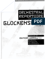 Orchestral Repertoire for Glockenspiel Copy