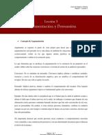 Leccion3 Argumentacion y Persuasion