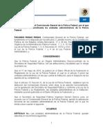 25284.131.59.1.Acuerdo de Adscripcion 01-2012 de La Policía Federal 7-Feb-2012