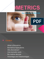 Biometrics Presentation IRC