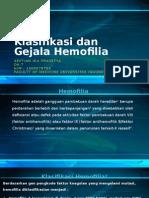 Klasifikasi Dan Gejala Hemofilia
