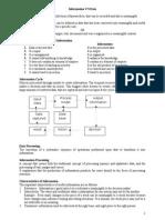 Information & Data