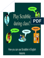 Using Scrabble in English Lessons