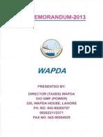 wapda taxmemo2013