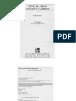 Optical Fiber Communications Third Edition