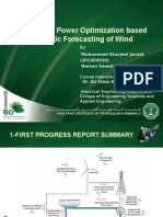 Wind Hydro Power Optimization