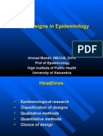 Study Designs in Epidemiology-Ahmed Mandil-2