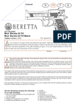 Manual Walther Beretta92