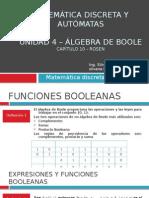 Unidad 4 - Algebra de Boole