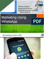 marketingusingwhatsapp-140604031707-phpapp02