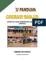 Buku Panduan Operasi Banjir Hrpz 2014-2015