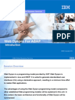 01 Web Dynpro for ABAP-Introduction