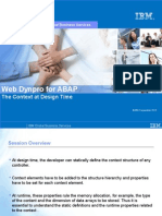 04 Web Dynpro for ABAP-Context at Design Time
