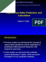 SC RE Chap13- Equilibrium Ratio Pred