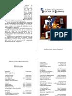 Programa Audición Febrero 2015