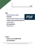 Clase de estructura de Acero